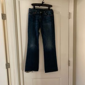 Lucky Brand Women's Dungarees Jeans sz 4/27